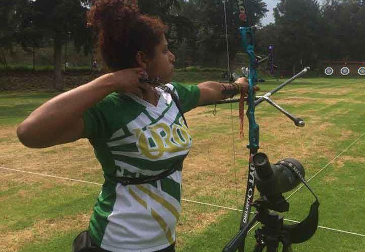 La atleta quintanarroense ganó por muerte súbita en la ronda final. (Cortesía)