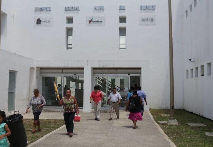 El nuevo titular del Hospital General de Playa del Carmen tiene el reto de restablecer las áreas que no operan actualmente. (Adrián Barreto/SIPSE)