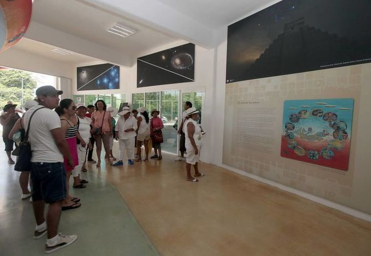 El planetario es visitado por locales, nacionales y extranjeros. (Redacción/SIPSE)