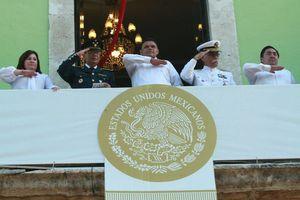 Desfile del 16 de Septiembre en Mérida