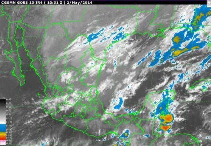 En la Península de Yucatán se encuentra presente el frente frío número 54. (Redacción/SIPSE)