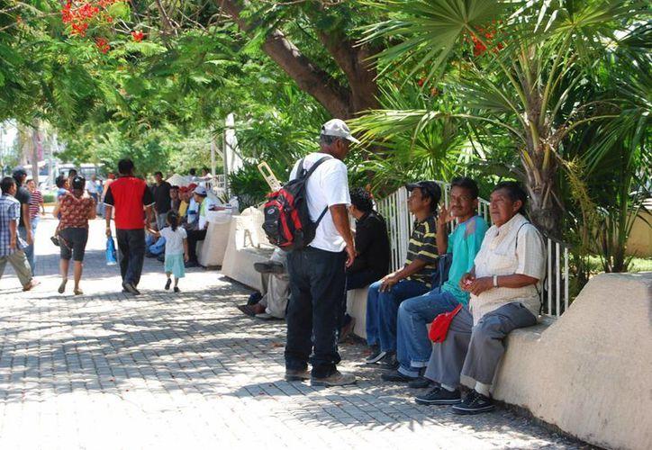 En la temporada baja el número de personas que llegan a este lugar incrementa. (Tomás Álvarez/SIPSE)