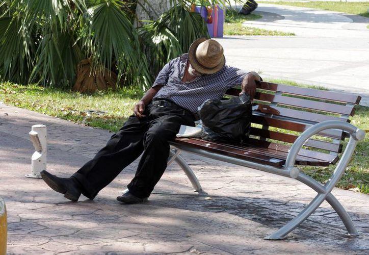 Cada día ingresan a la cárcel de Chetumal un promedio de cuatro indigentes. (Francisco Sansores/SIPSE)