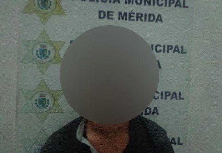 El sujeto Didier D. T. L.  fue detenido por la Policía Municipal. (PMM)
