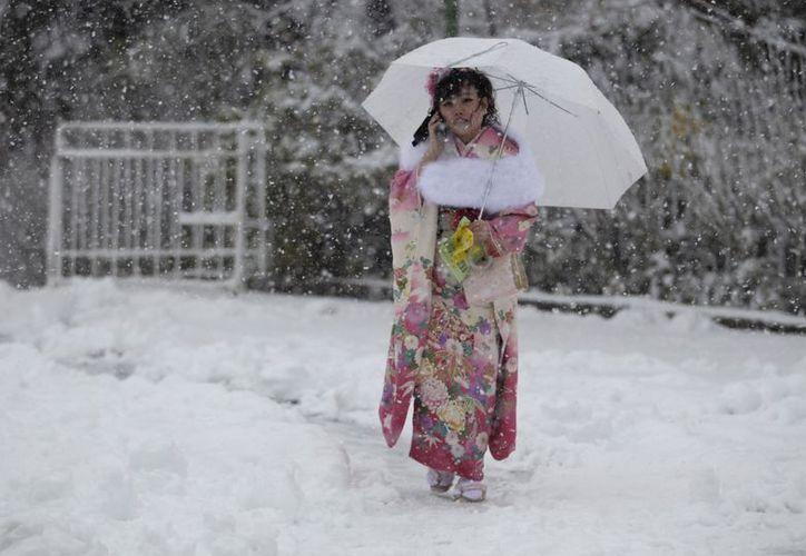Japón tiene serios problemas por el mal tiempo. (Agencias)
