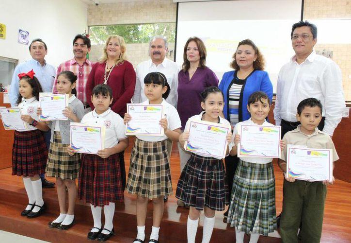 Niños y niñas de 6 a 12 años participaron en el Concurso Estatal de Dibujo del Iepac. (SIPSE)