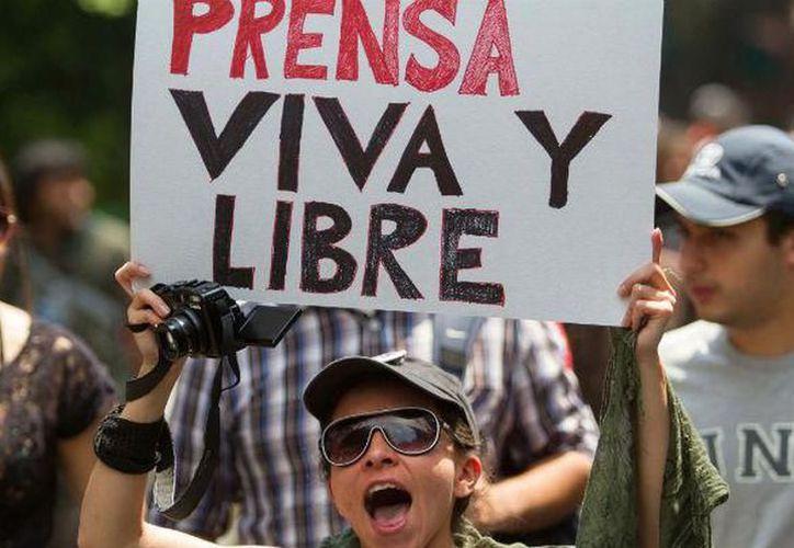 """Los datos se dieron a conocer ayer, en el marco del foro """"Libertad de Expresión"""", organizado por la Fundación Fernando Mora Gómez. (SIPSE)"""
