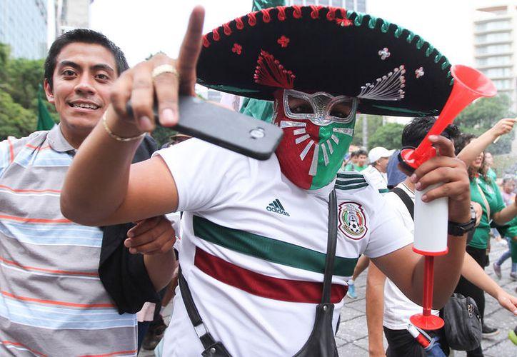 De ningún país del mundo llegaron tantos visitantes a Rusia como de México, para disfrutar el Mundial (Foto Notimex)