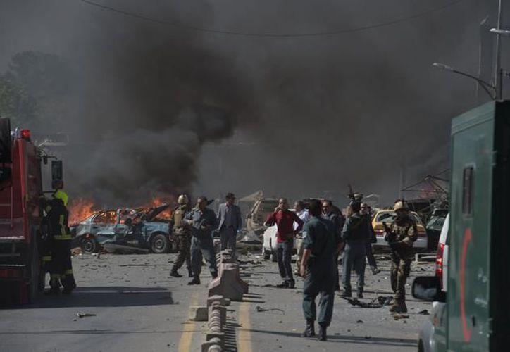 Al menos siete personas murieron y otras 21 resultaron heridas por un atentado suicida en Kabul. (Contexto/Internet).