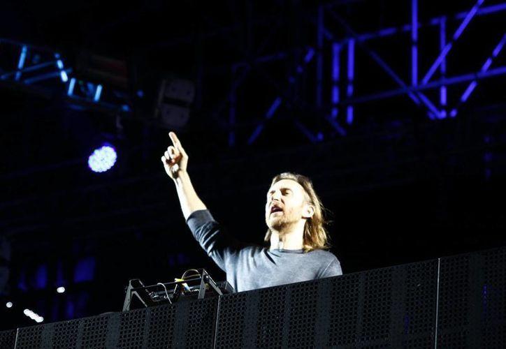 David Guetta demostró con creces por qué es un maestro DJ. (Christian Ayala/SIPSE)
