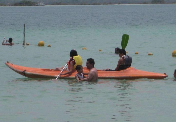 Los visitantes disfrutarán de varias actividades, además de remo en kayak. (Javier Ortiz/SIPSE)