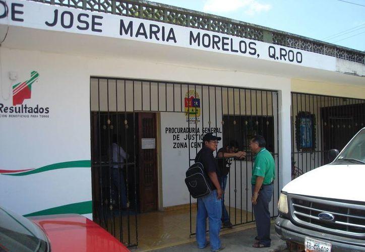 Exhortan a los estafados a levantar las denuncias correspondientes en la oficina ministerial. (Carlos Yabur/SIPSE)