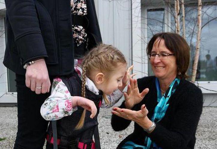 El revolucionario dispositivo ayudará a los niños a desarrollar sus habilidades motrices. (nydailynews.com)