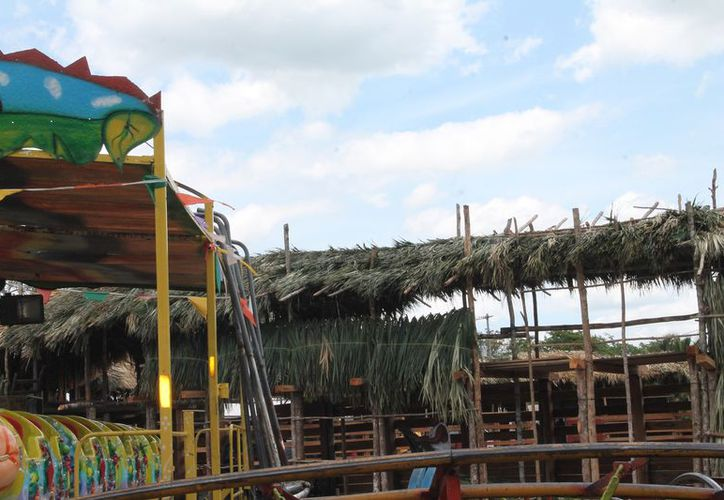Protección Civil verificará las instalaciones del coso taurino y de puestos comerciales. (Raúl Balam/SIPSE)