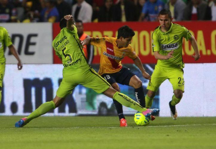 Todo parece indicar que Morelia seguirá una semana más en el fondo de la tabla general, ya que apenas empató 2-2 contra Aguilas del América. (Foto: Notimex)