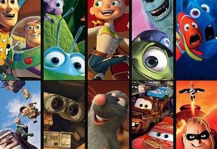 Varios personajes de Disney están interconectados a propósito en filmes de Pixar. (Fotos:Disney/Pixar)