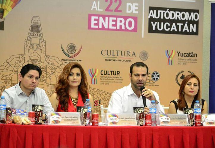 El Festival del Globo se celebrará en Yucatán del 19 al 22 de enero. (Foto: Daniel Sandoval/SIPSE)