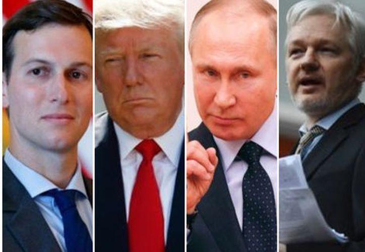 La querella acusa a Donald Trump Jr. de comunicarse en secreto con WikiLeaks. (Milenio)