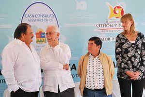 Asisten Cónsules a inauguración de Casa Consular en Chetumal