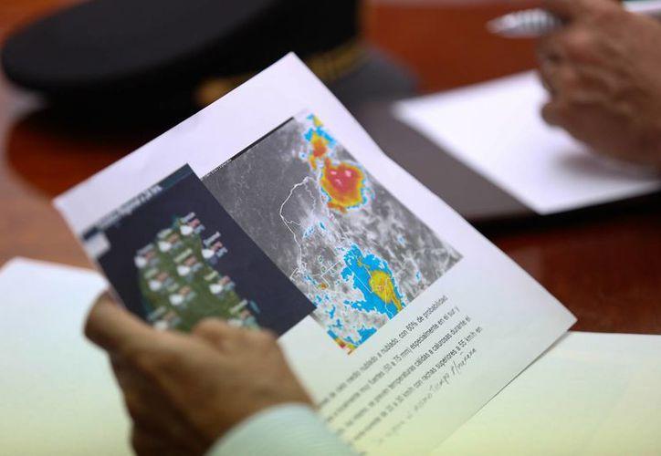 El Gobierno de Yucatán mantiene el monitoreo de los remanentes de la depresión tropical 9. (SIPSE)