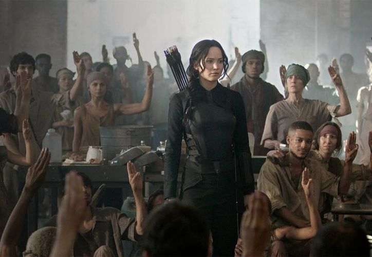 La tercera película de 'Los Juegos del Hambre', titulada 'Sinsajo: parte 1', ha sido hasta ahora tan exitosa en taquilla como las anteriores. (hellofriki.com)