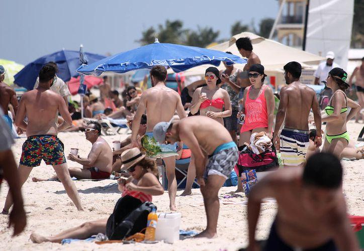 Esperan una gran afluencia turística para el corredor Cancún-Riviera Maya. (Adrián Barreto/SIPSE)