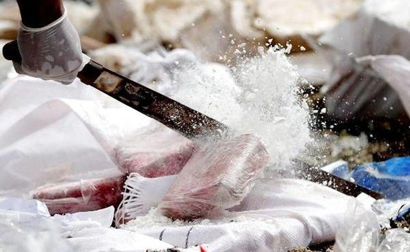 Entre 4% y 6% de toda la cocaína que llega a EU y a Europa pasa por República Dominicana y Haití. (Archivo/Reuters)