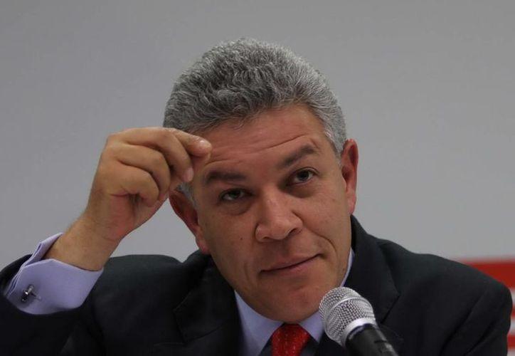 David Penchyna asegura que no se ve como gobernador, pues 'tengo una responsabilidad como senador'. (Archivo/SIPSE)