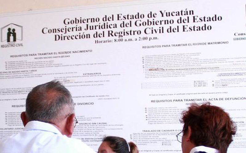 Yucatán: a partir del 2017, podrás sacar tu acta de nacimiento por ...