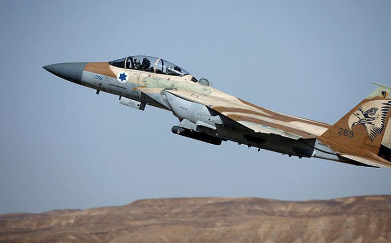 Bombardeo israelí en represalia por disparos provenientes desde Siria