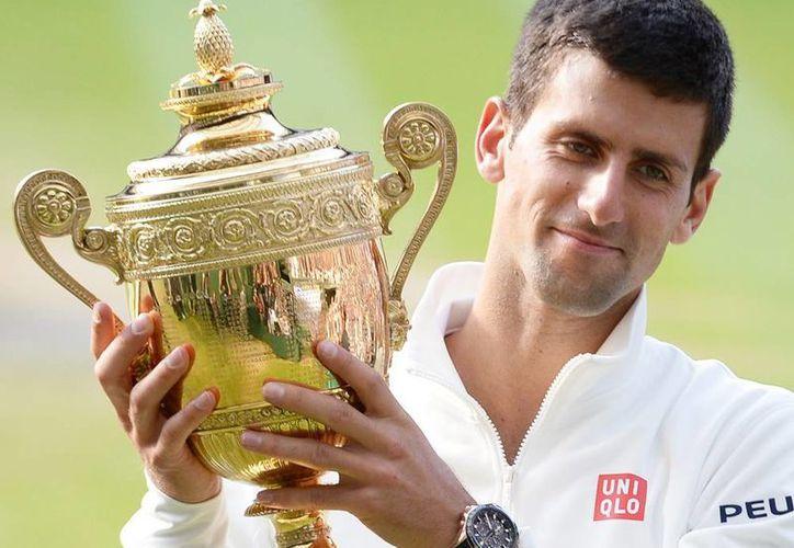 """Para Novak Djokovic, el hecho de que la boda se celebrase después de su victoria en Wimbledon, hizo que este evento fuera aún """"más especial"""". (EFE/Archivo)"""