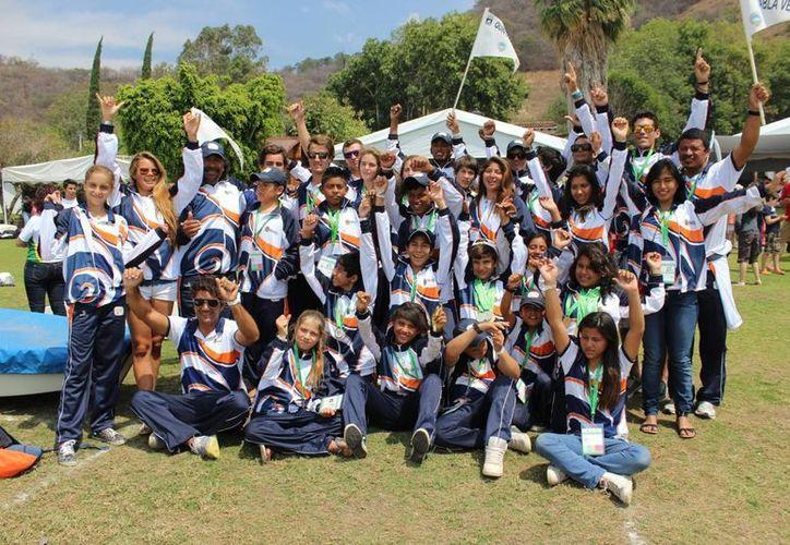 Con un total de 16 medallas de oro, la delegación quintanarroense quedo como subcampeón de la olimpiada. (Redacción/SIPSE)