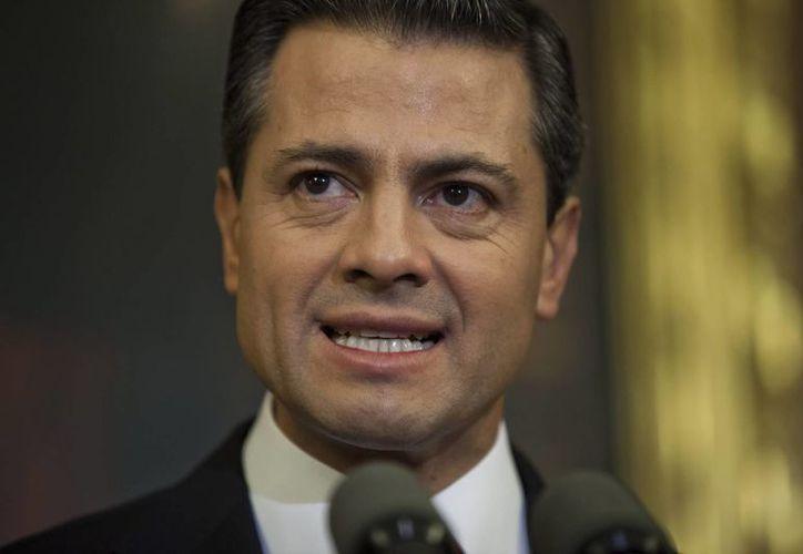 La política de seguridad del gobierno de Peña Nieto sigue siendo parecida a la de Calderón. (EFE/Archivo)