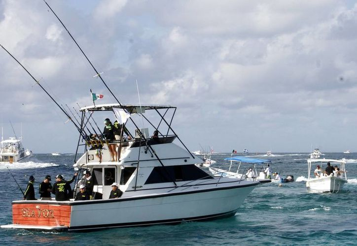 Se esperan más de 100 embarcaciones para el torneo. (Archivo/SIPSE)