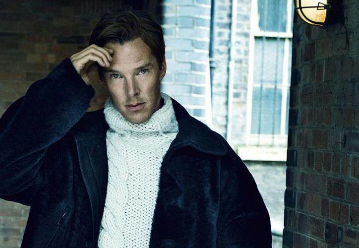 Benedict Cumberbatch, nominado al premio Oscar, se casó este 14 de febrero en una ceremonia íntima en Inglaterra. (elleuk.com/Foto de archivo)