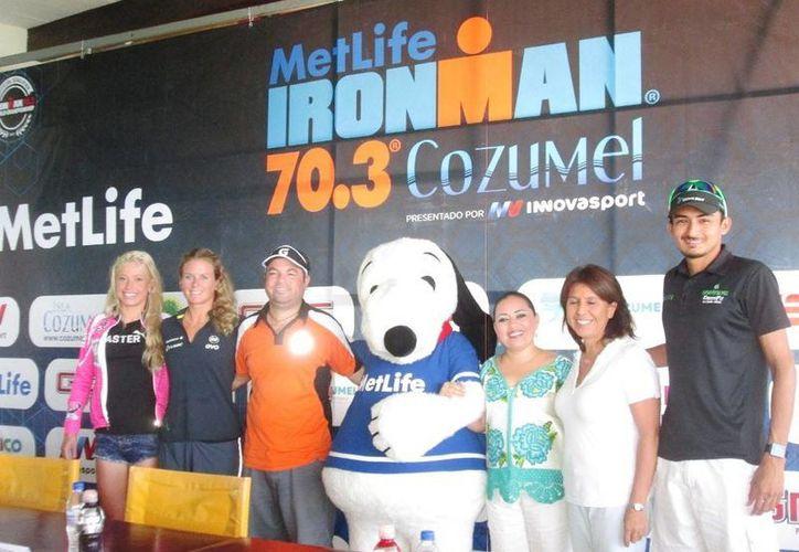 El Ironman 70.3 será este domingo en la Isla de las Golondrinas. (Irving Canul/SIPSE)
