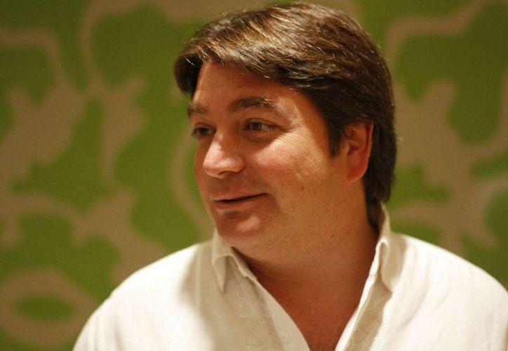 Juan Carlos López, líder del proyecto Dragon Mart. (Israel Leal/SIPSE)