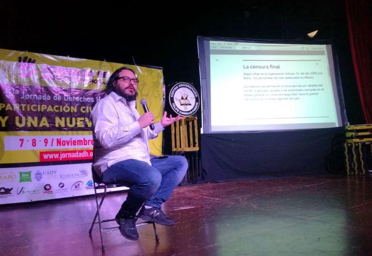 Albinson Linares, periodista editor del The New Yotk Times en español. (Foto: Milenio Novedades)