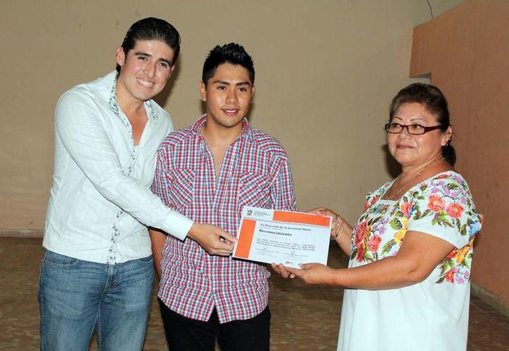 Yael Damián Rodríguez Góngora competirá en la fase estatal que se realizará en Mérida en agosto. (SIPSE)