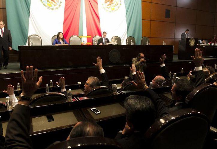Legisladores del PAN indicaron que el Código Penal Nacional podrá modificarse posteriormente, pues es un texto perfectible. (Notimex)