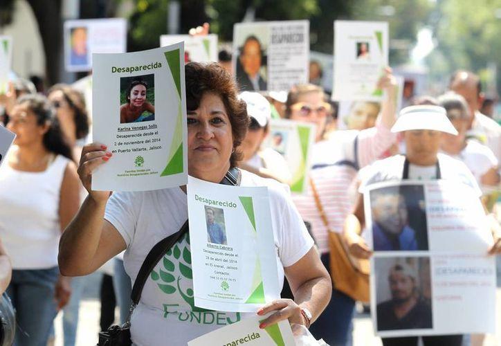 Desde 2007, decenas de miles de personas son reportadas como desaparecidas en México. Se estima que son unos 25 mil, y nadie sabe dónde están. (EFE)