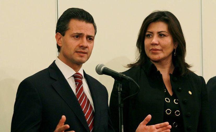 En 2011, Peña Nieto se disculpó públicamente por el comportamiento de su hija. (Notimex)
