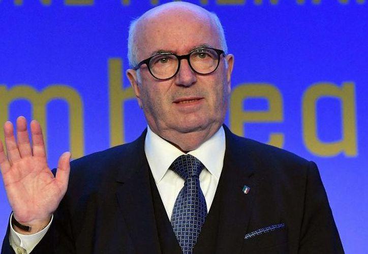 El ahora ex número uno del futbol italiano había sido reelecto apenas en marzo pasado. (Contexto)