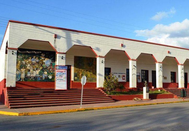 La casa de la cultura será la sede del tianguis. (Cortesía/SIPSE)