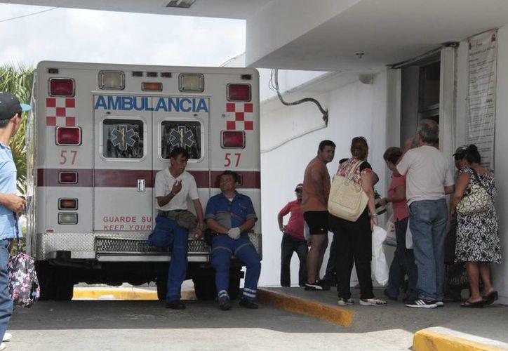 Se reciben tres casos a la semana en el Hospital General por quemaduras de segundo grado. (Tomás Álvarez/SIPSE)