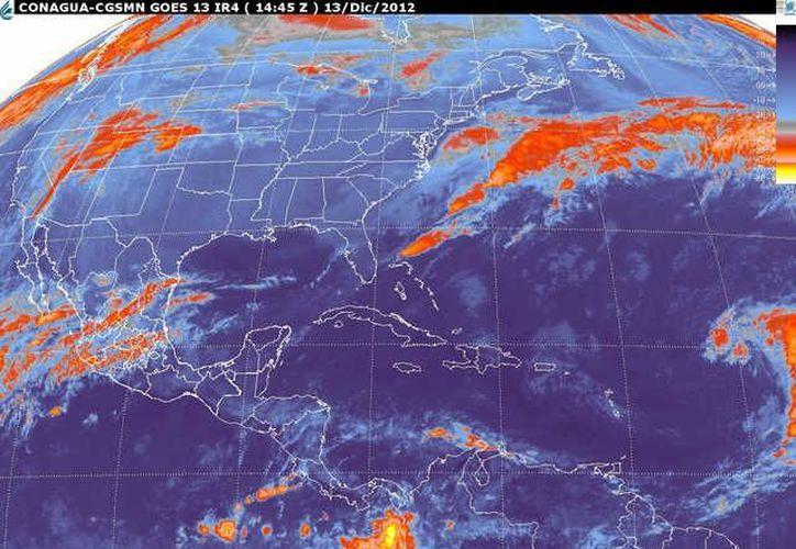 Soplarán vientos del norte y nopreste de 20 a 40 km/h con rachas. (smn.cna.gob.mx)