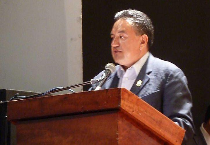 Martin Esparza Flores, dirigente del Sindicato Mexicano de Electricistas (SME) es el promotor de la nueva organización obrera. (YouTube)