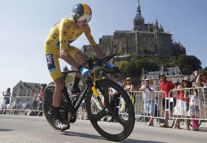 Froome se coronó en 2013, dos semanas antes de ganar el Tour de Francia. (Foto: Archivo/AP)