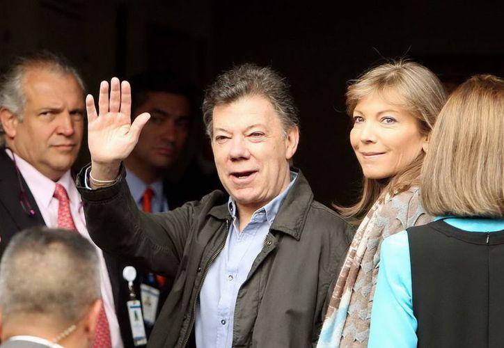Juan Manuel Santos dio a conocer la noticia durante una reunión con gobernadores. (Archivo/Notimex)