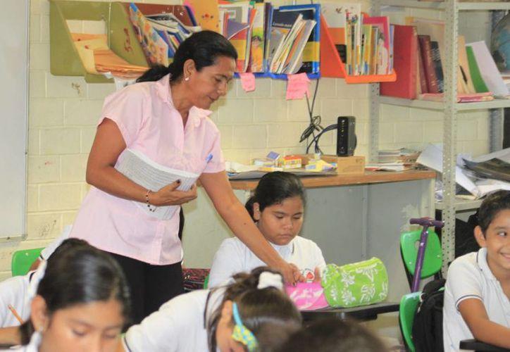 La prueba se realizó a todos los niños del país, excepto Oaxaca. (Notimex)